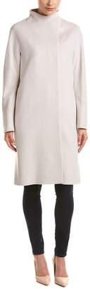 Cinzia Rocca Novelty Ombre Wool Coat
