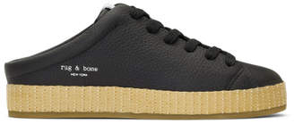 Rag & Bone Black RB1 Espadrilles
