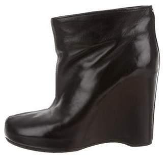Maison Margiela Platform Wedge Ankle Boots