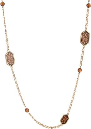 Grace Kelly Collection 'Rue de Paris' Station Necklace