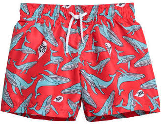 H&M Patterned swim shorts