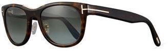 TOM FORD Jack Acetate Round Sunglasses $380 thestylecure.com