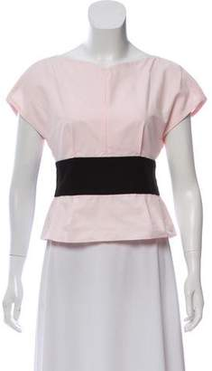 Narciso Rodriguez 2018 Belted Top