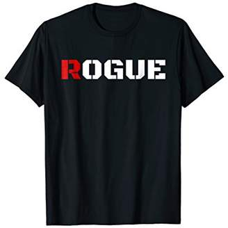 Rogue Tshirt with Army Style Print