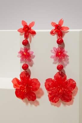 Isabel Marant Flower pendant earrings