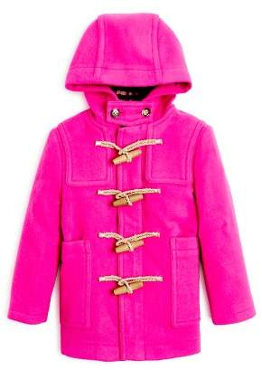 Burberry Girls' Burford Wool Duffle Coat - Little Kid, Big Kid