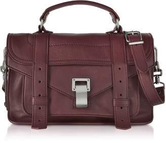 Proenza Schouler PS1 Tiny Cordovan Lux Leather Satchel Bag