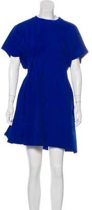 Maison Margiela Short Sleeve Mini Dress