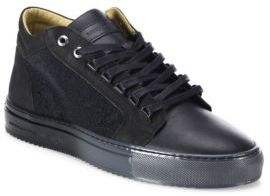 AndroidANDROID HOMME Margom Nubuck Caviar Mid-Top Sneakers