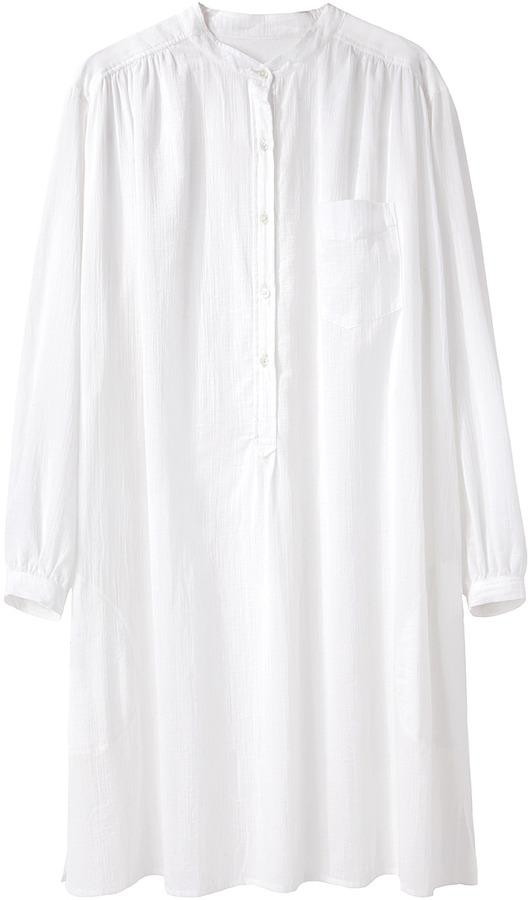 Organic by John Patrick Oversized Shirtdress