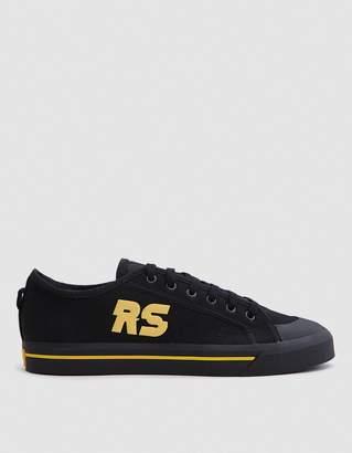 Raf Simons Adidas X  Stan Spirit in Core Black/Yellow