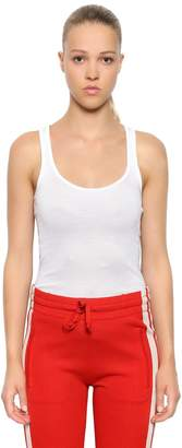 Etoile Isabel Marant Cotton Ribbed Jersey Tank Top