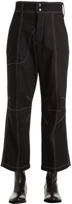 Vejas Denim Jeans W/ Contrasting Stitching