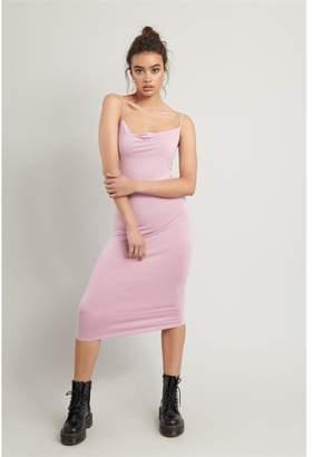 Garage Cowl Neck Slip Dress