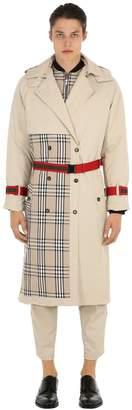 Andrea Crews Patchwork Trench Coat