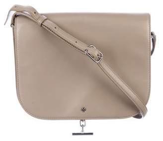 Tory Burch Logo Smooth Leather Crossbody Bag