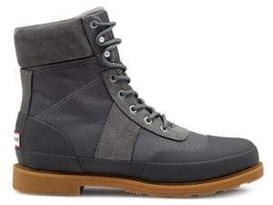 Hunter Insulated Water-Resistant Commando Boots