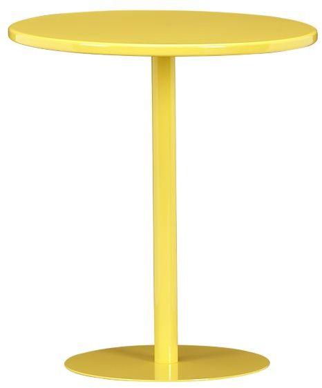 Pedestal Daffodil Side Table