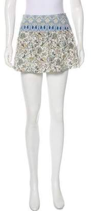 Paco Rabanne Pleated Mini Skirt