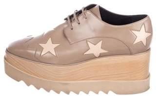 Stella McCartney Vegan Leather Platform Oxfords