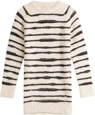 Zadig & Voltaire Striped Pullover with Wool and Alpaca