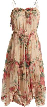 Zimmermann Laelia floral-print silk dress