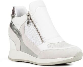 be3ed5c6845 Geox Nydame Wedge Sneaker