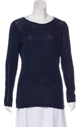 Rachel Zoe Scoop Neck Knit Sweater