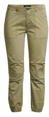 Monrow Chino Side-Zip Joggers