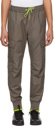 Versus Green Stripe Cargo Pants