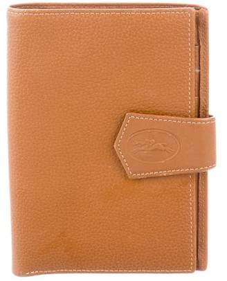Longchamp Grained Leather Wallet