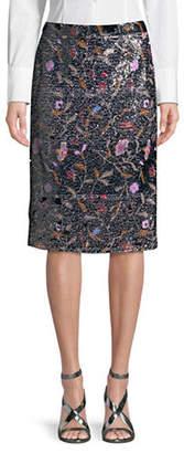 Rachel Comey Aquiline Sequin Midi Skirt