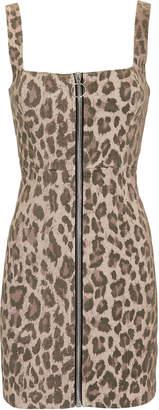 Nicholas Leopard Mini Dress
