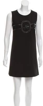 The Kooples Sleeveless Embellished Dress