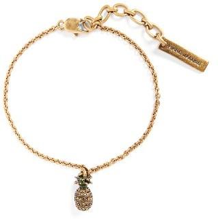 Women's Marc By Marc Jacobs Pineapple Charm Bracelet $65 thestylecure.com