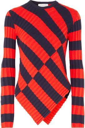 Altuzarra Mullins Striped Stretch-knit Top