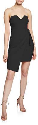 LIKELY Wynonna Strapless Side-Tie Cocktail Dress