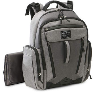 Eddie Bauer Backpack Diaper Bag with Wipe Case