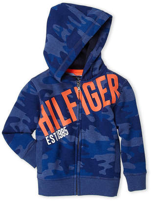 Tommy Hilfiger Toddler Boys) Camo Logo Hoodie