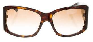 Christian Dior Tortoiseshell Gradient Sunglasses