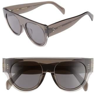 Celine 52mm Pilot Sunglasses