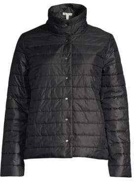 Eileen Fisher Recycled Nylon Puffer Jacket