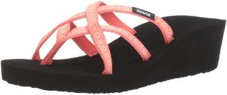 Teva Women's W Mush Mandalyn Wedge Ola 2 Sandal