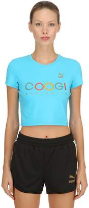 Puma Select Coogi Printed Cropped Jersey T-Shirt