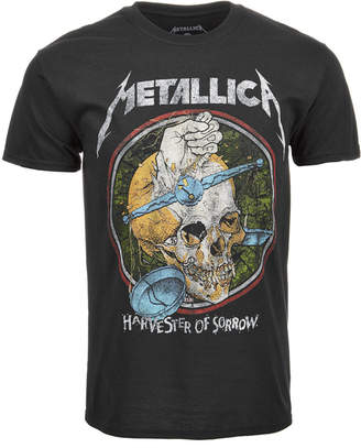Metallica Harvest Men's T-Shirt by Merch Traffic