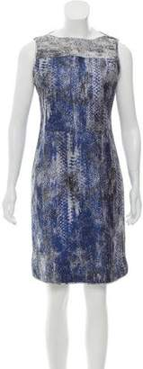 Reed Krakoff Metallic Mini Dress w/ Tags