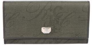 Nina Ricci Monogram Coated Canvas Wallet