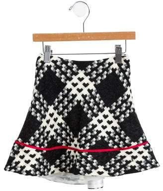 Helena Girls' Patterned Skirt