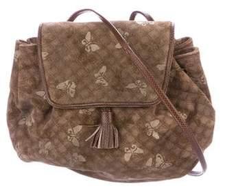 Bottega Veneta Vintage Butterfly Crossbody Bag