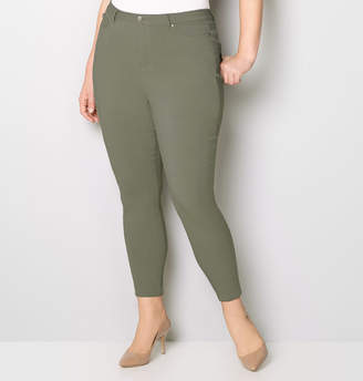 Avenue 5 Pocket Stretch Jean in Olive 28-32
